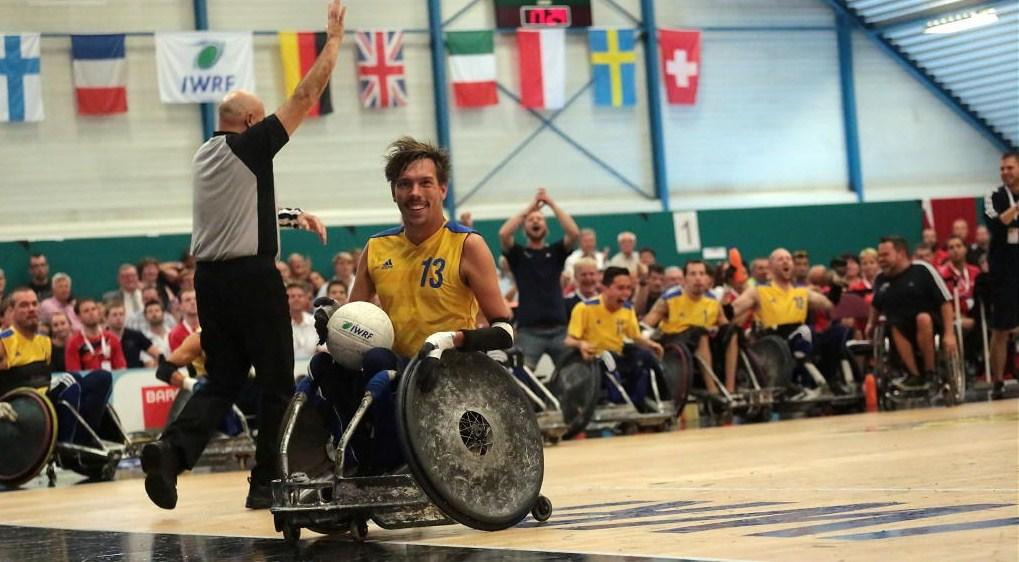 Чемпионат Европы регби на колясках