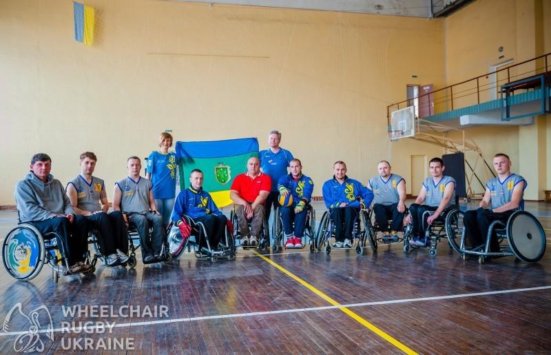 Игроки регби в Бердичеве