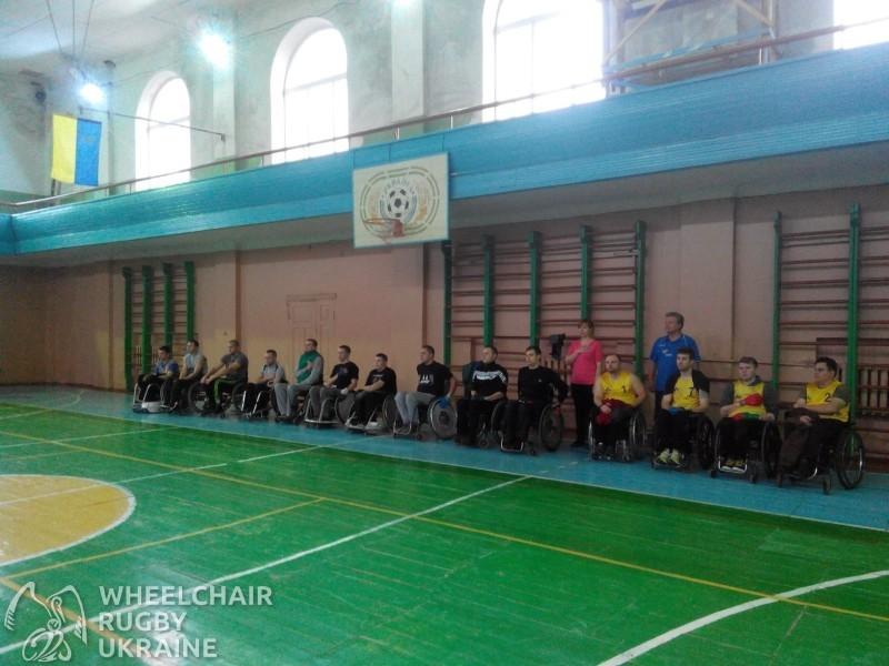 Перші в Україні змагання з регбі на візках пройшли у Рівному